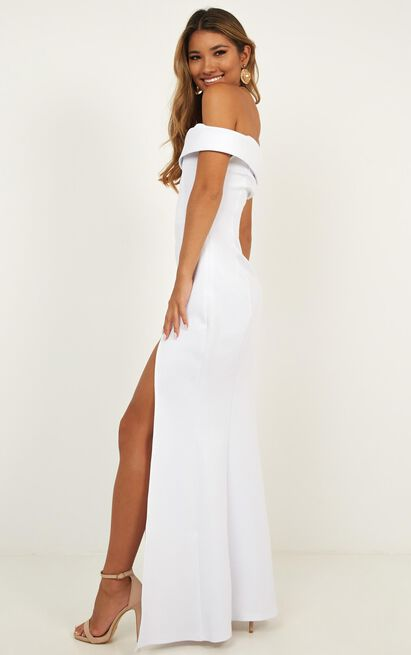 One For The Money dress in white - 20 (XXXXL), White, hi-res image number null