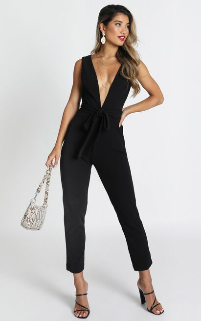 Leave No Trace Jumpsuit in black - 6 (XS), Black, hi-res image number null