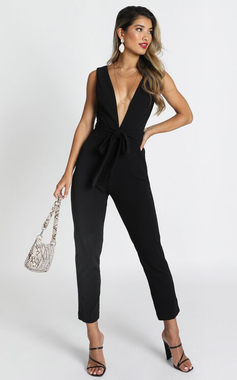 Leave No Trace Jumpsuit in black