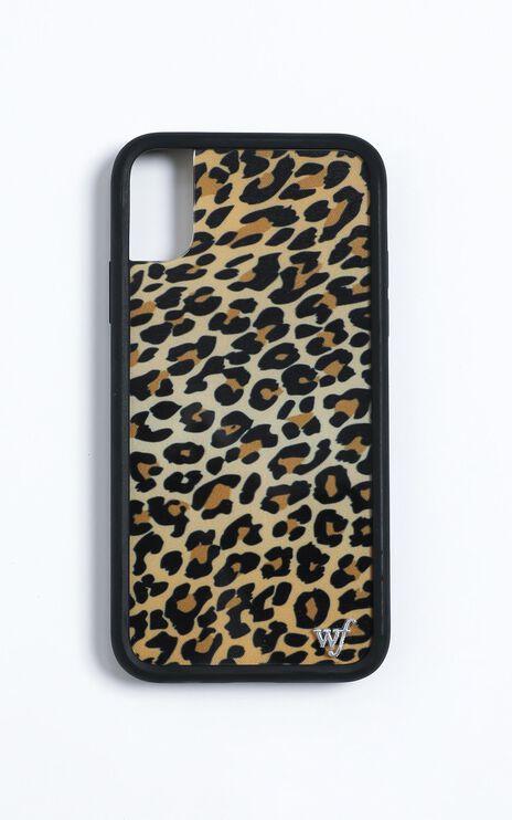 Wildflower - Iphone Case in Leopard