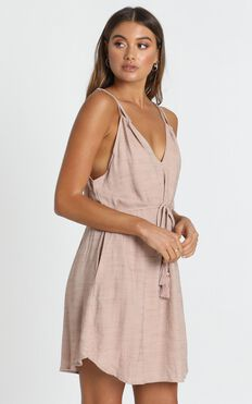 Cecelia Dress In Beige