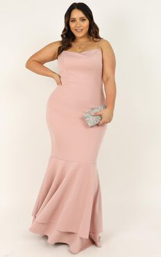 Way I Feel For You Dress In Blush