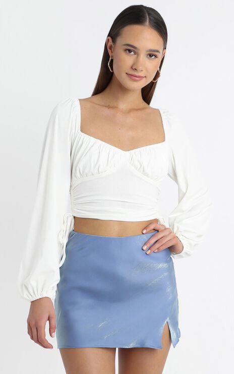 Hubert Skirt in Blue