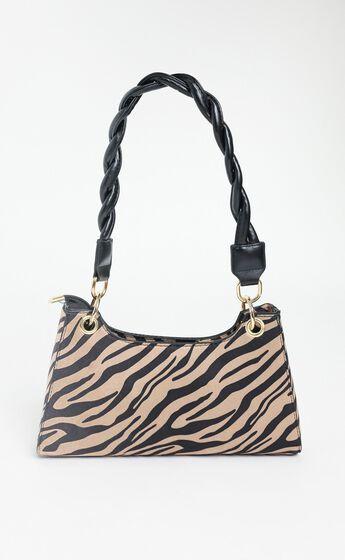 Luz Bag in Zebra Print