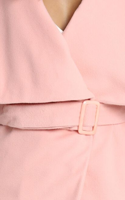 In an Instant coat in Blush - 6 (XS), Blush, hi-res image number null