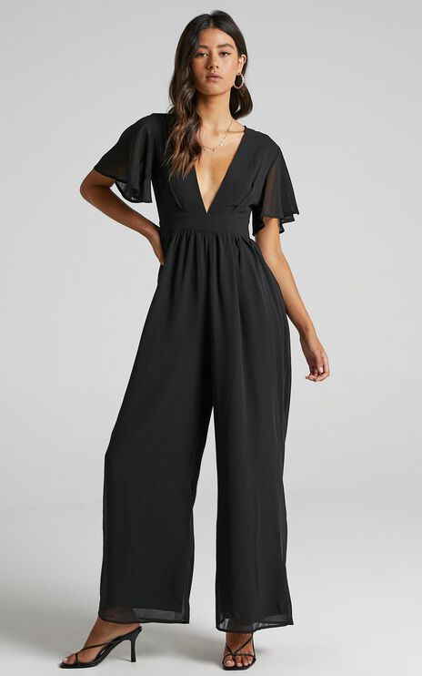 Baxter Jumpsuit in Black