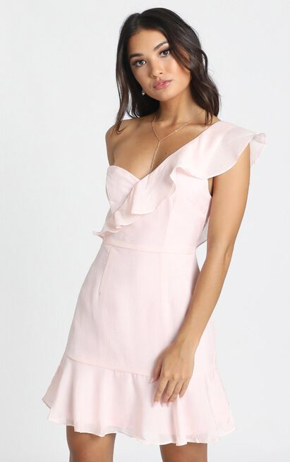 Calling It Over Dress in blush pink - 14 (XL), Pink, hi-res image number null