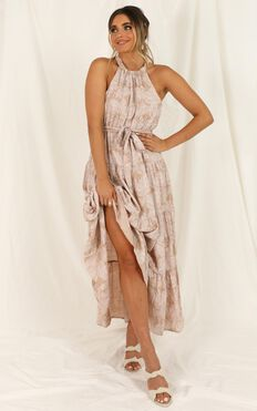 Kiss Me Hard Dress In Pink Floral
