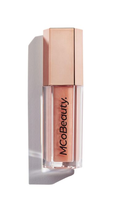 MCoBeauty x Sophie Monk Pout Gloss In Tickle, Beige, hi-res image number null