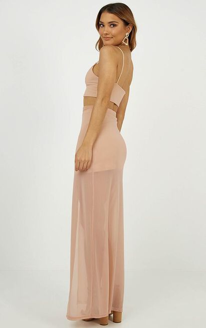 Body Language two piece set in blush - 8 (S), Blush, hi-res image number null
