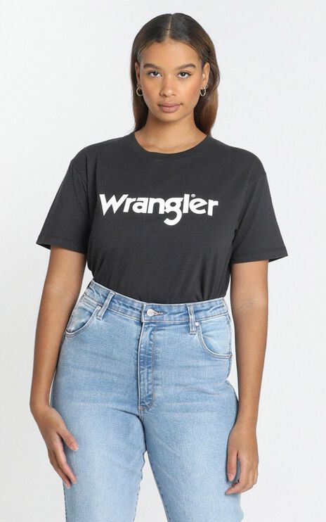Wrangler - Classics Tee in Vintage Black
