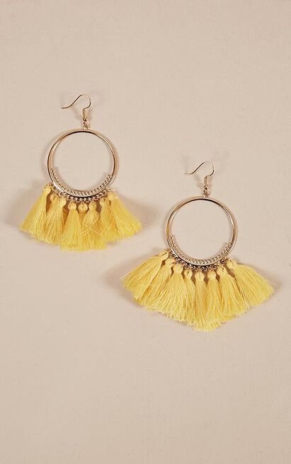One Way Or Another earrings in gold, Gold, hi-res image number null