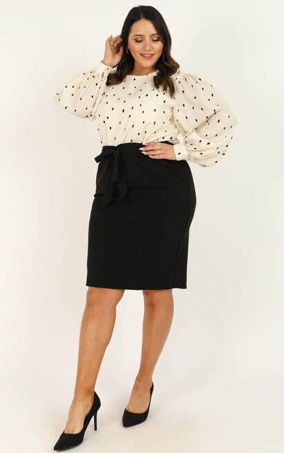 Among Others Skirt in black - 20 (XXXXL), Black, hi-res image number null