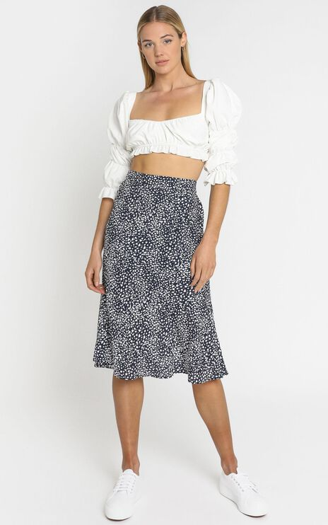 Alegra Skirt in Navy