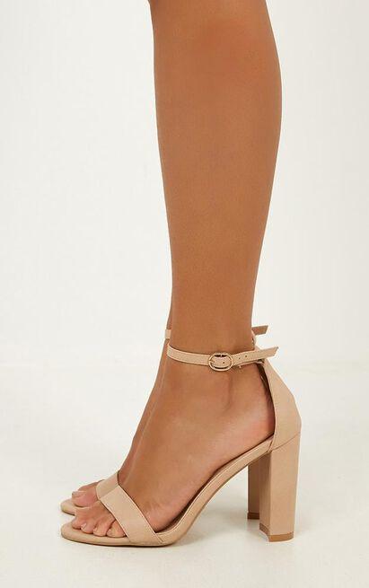 Billini - Jessa heels in nude - 5, Brown, hi-res image number null