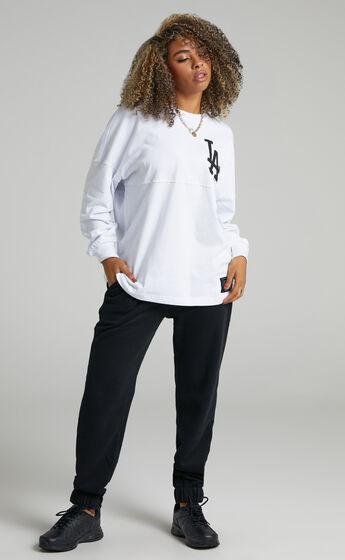 Majestic - LA Dodgers Rando LS Tee in White