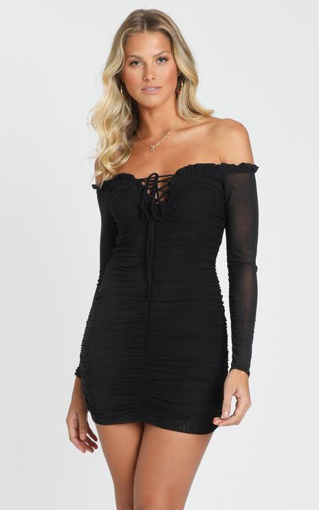 Rise Up Dress In Black