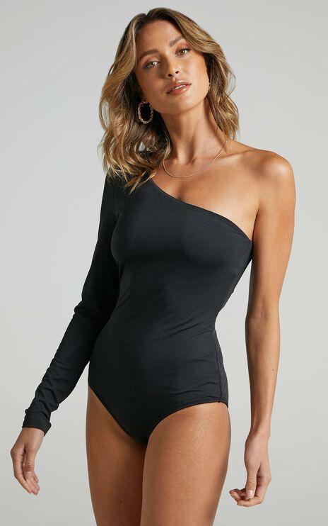 You Spoke My Name Bodysuit In Black