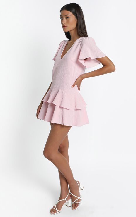Bahama Baby Dress in Pink
