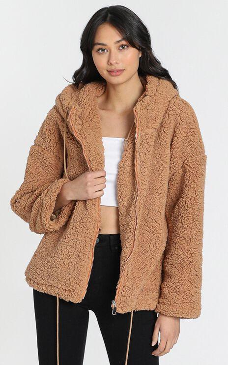 New Yorker Jacket in Camel