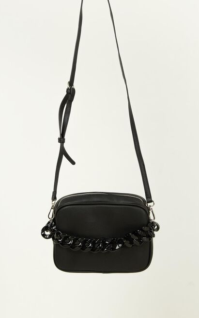 Love On Time Bag In Black, Black, hi-res image number null