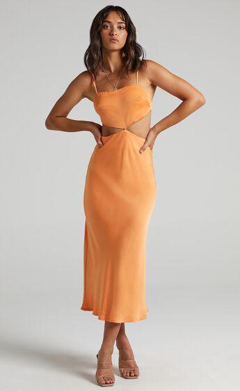Kerley Dress in Orange