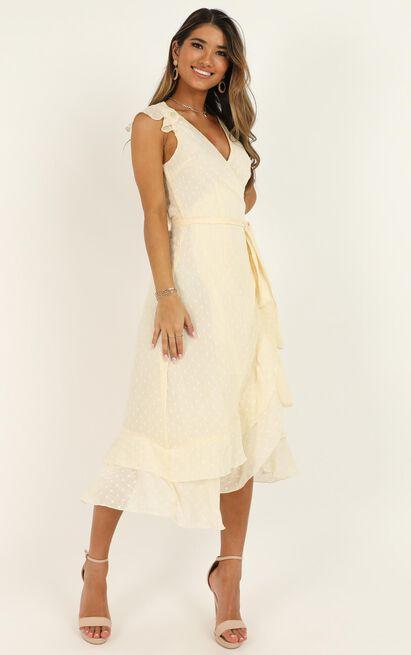 Let It Go Dress in cream - 20 (XXXXL), Cream, hi-res image number null
