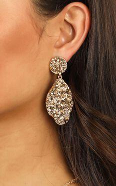 One Night Earrings In Gold