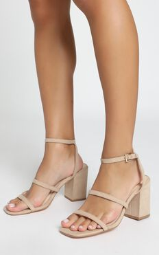 Verali - Georgia Heels In Natural Micro