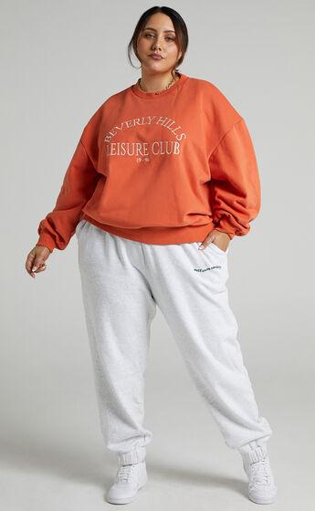Sunday Society Club - Junno Sweatshirt in Orange