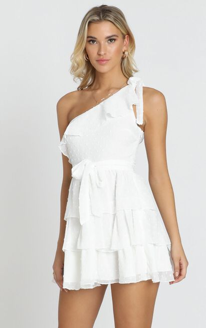 Darling I Am A Daydream Dress in white - 20 (XXXXL), White, hi-res image number null