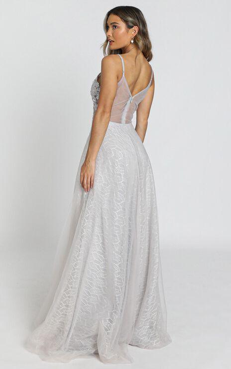 Nashville Dress in ice grey