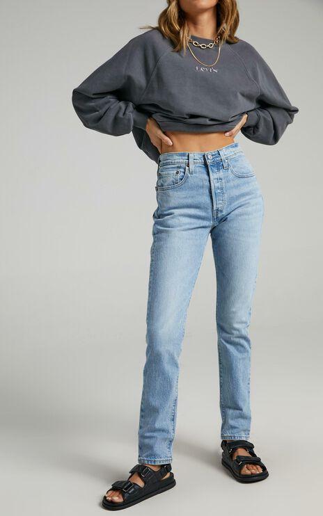 Levis - 501 Skinny Jean in Tango Light