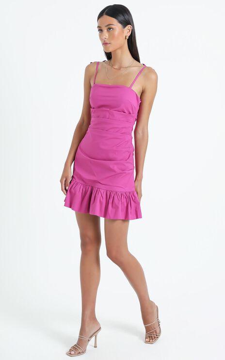 Wirral Dress in Purple
