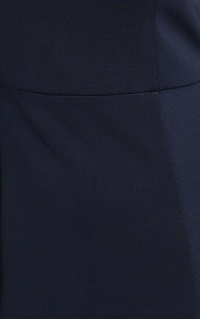 No Ones Fault Dress in navy - 20 (XXXXL), Navy, hi-res image number null