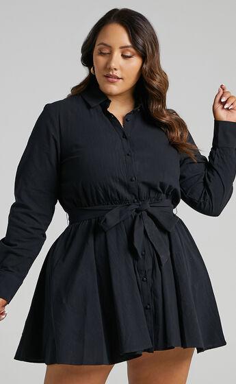 Ciri Dress in Black