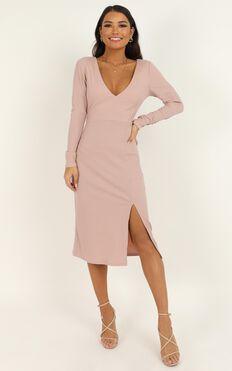 Clone Me Dress In blush