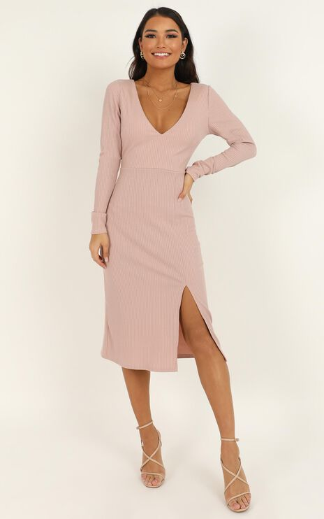 Clone Me Dress In blush