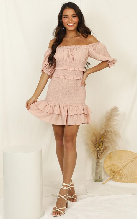 Daytime Dream Dress In Blush
