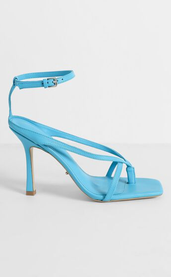 Tony Bianco - Faythe Heels in Blue Nappa