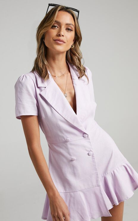 Hawker Playsuit in Lilac