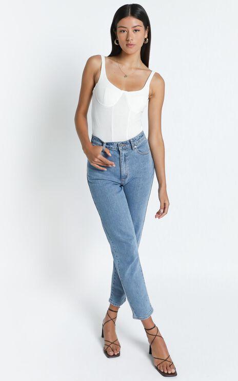 Clarissa Bodysuit in White