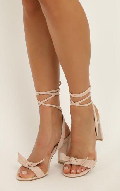 Billini - Granita heels in blush micro - 10, Blush, hi-res image number null