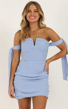 Feeling Cute Dress In Light Blue
