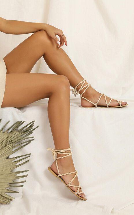 Showpo X Billini - Maui Sandals In Natural Rope