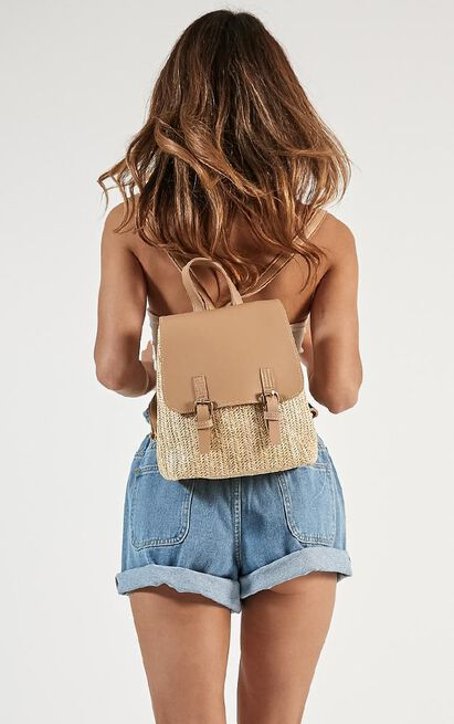Changing Pace Backpack In Tan, , hi-res image number null