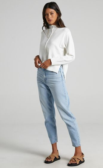 Sinead Knit Jumper in Cream
