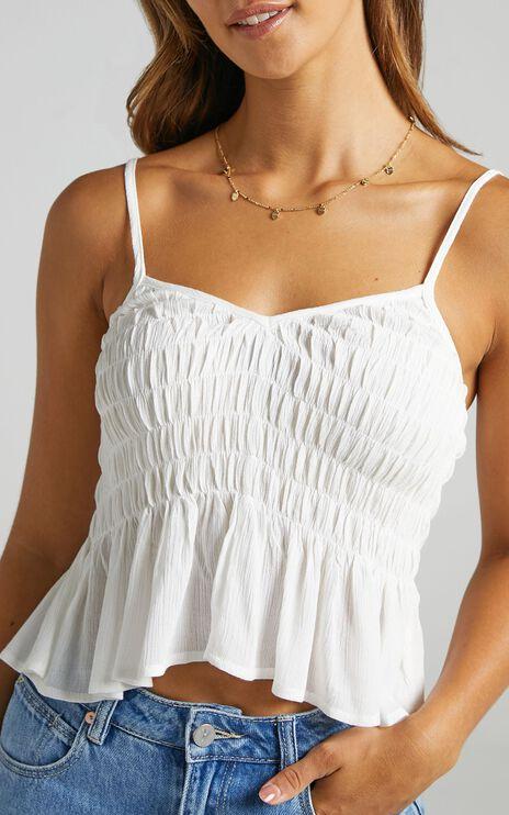 Bellona Top in White