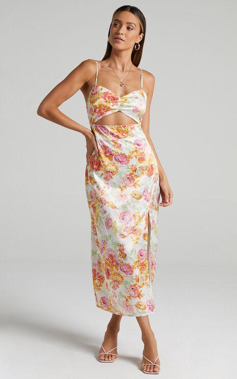 Annabeth Dress in Romantic Floral
