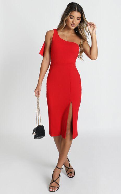 I Got A Feeling Dress In Red